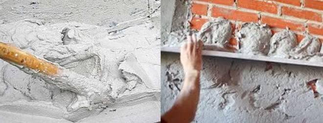Цементно-песчаная штукатурка: свойства и сфера применения