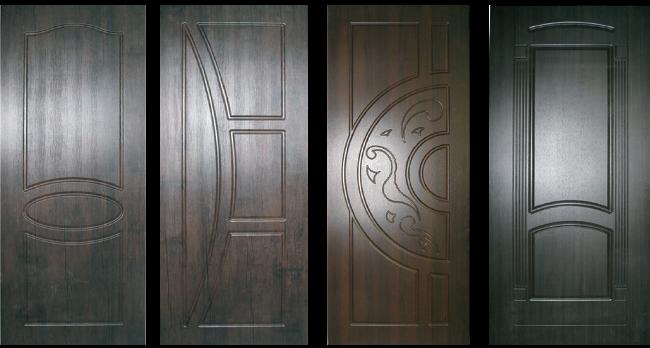 Накладки на двери из мдф: разновидности и особенности монтажа
