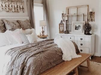 Спальня в стиле шебби-шик своими руками, красивый дизайн интерьеров