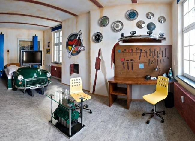 Дизайн комнаты для мальчика-подростка: 80 фото-идей
