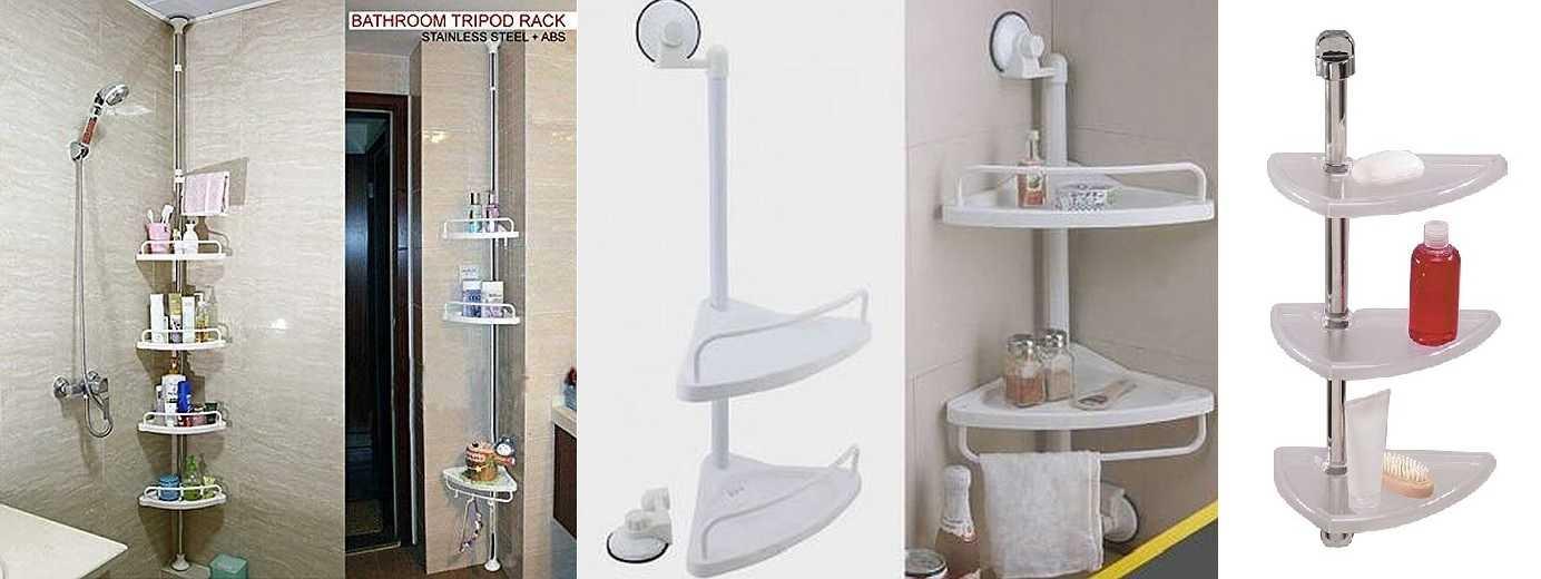 Полка для ванной: 145 фото, рекомендации по выбору и монтажу полок