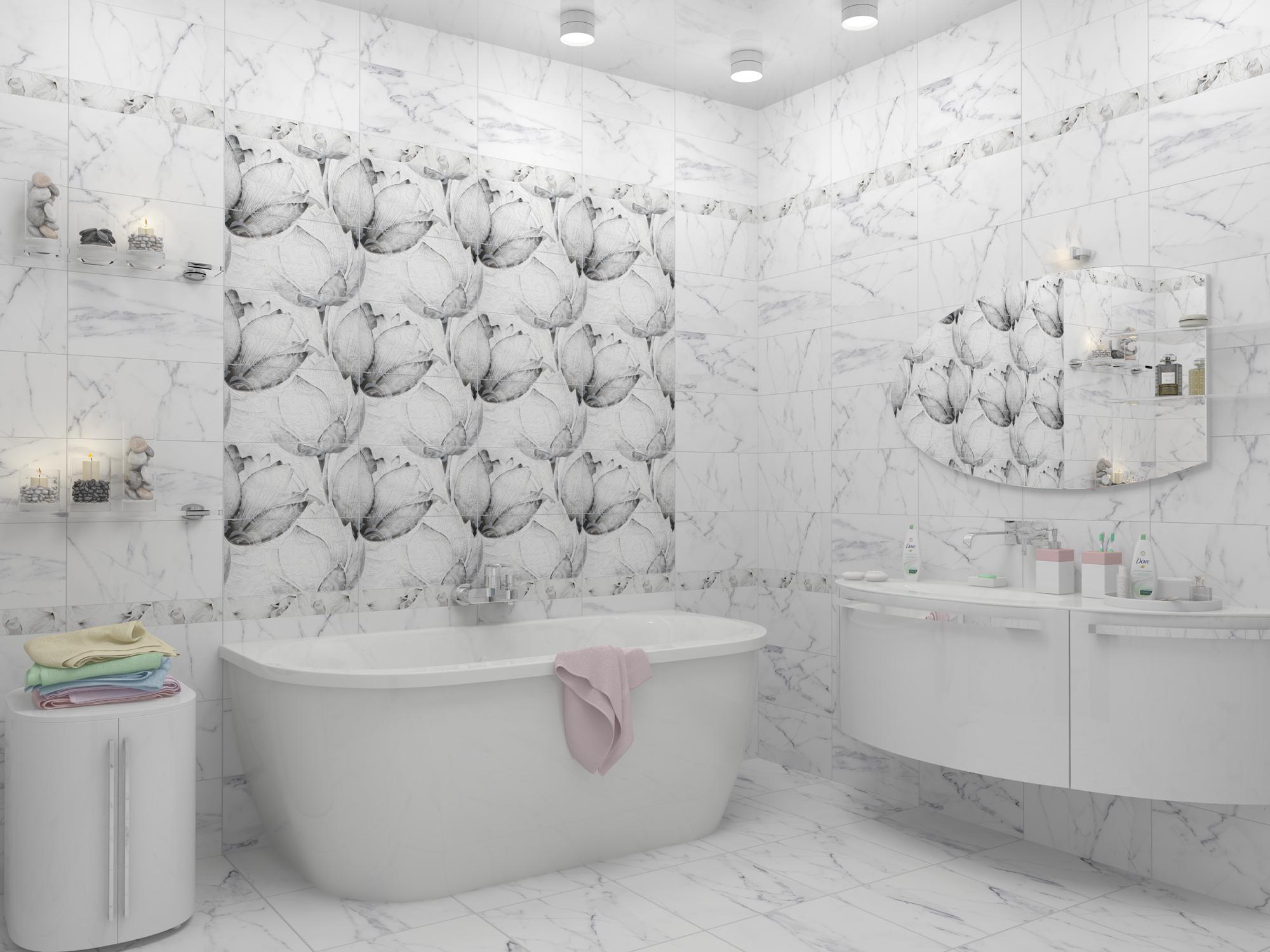Напольная плитка под мрамор (39 фото): глянцевая белая и черная плитка на пол, идеи оформления интерьера