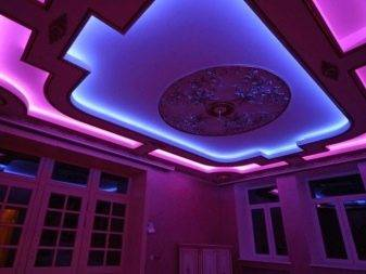 Светодиодная подсветка потолка: плюсы и минусы