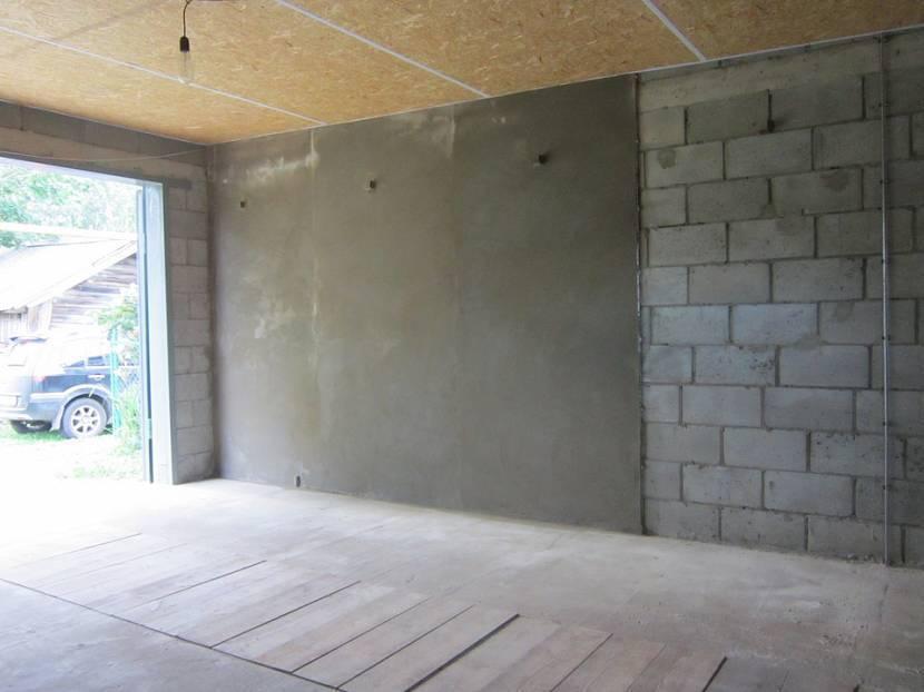 Штукатурка стен – технология выравнивания и нанесения