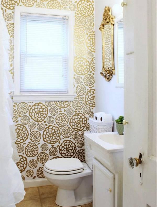Обои для туалета в квартире фото: интерьер туалета, ремонт обоями, дизайн под плитку, жидкие обои, отделка обои для туалета в квартире: гармоничный дизайн и лучшие фото интерьеров – дизайн интерьера и ремонт квартиры своими руками