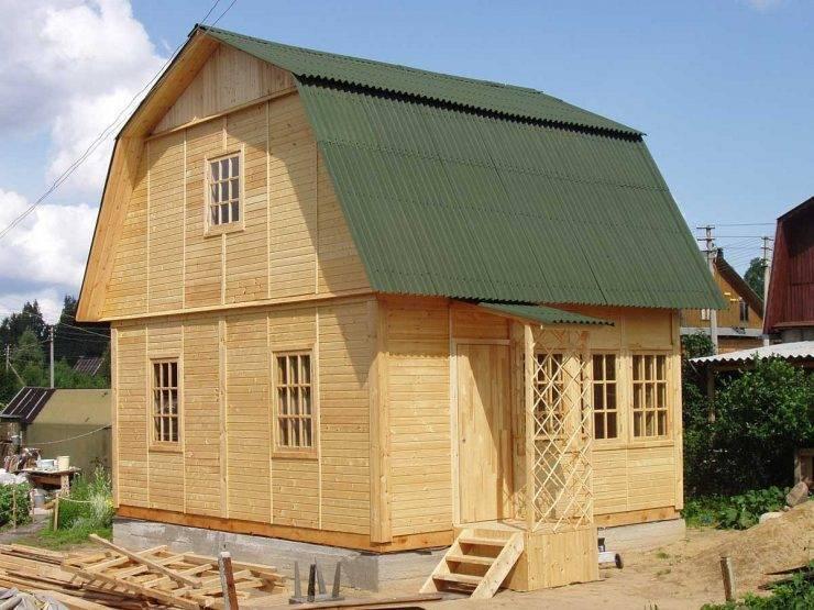 Дом 6 на 9 метров - 100 фото готовых проектов частных домов и коттеджей