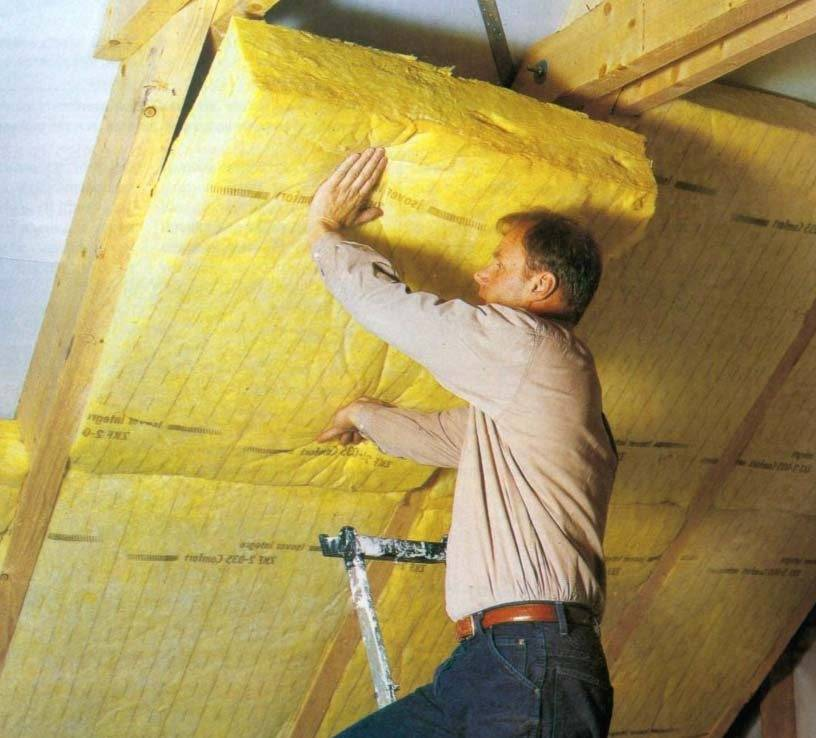 Каркас потолка под гипсокартон из металлопрофиля в мансарде