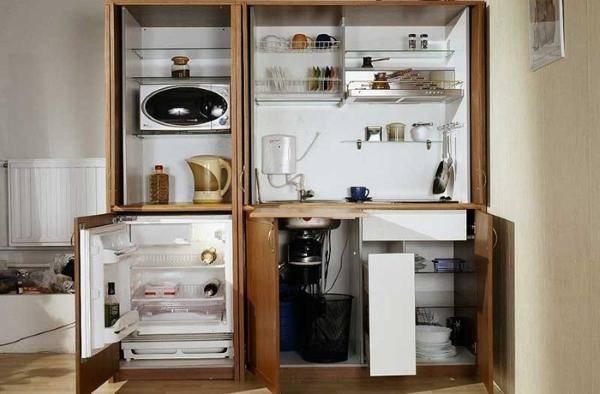 Чем отличается встроенный холодильник от обычного