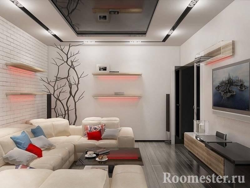 Гостиная 17 кв. м. – 115 фото современных и классических стилей для создания уникального дизайна – строительный портал – strojka-gid.ru
