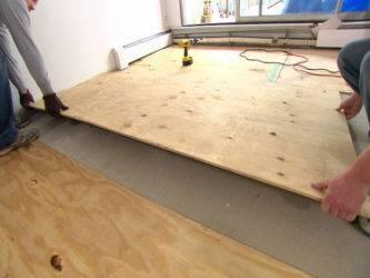 Дсп под линолеум: чем приклеить, выравнивание, укладка на деревянный пол, как стелить, фото и видео