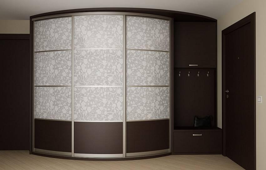 Радиусные шкафы – современные модели и оптимальные решения по применению (105 фото)