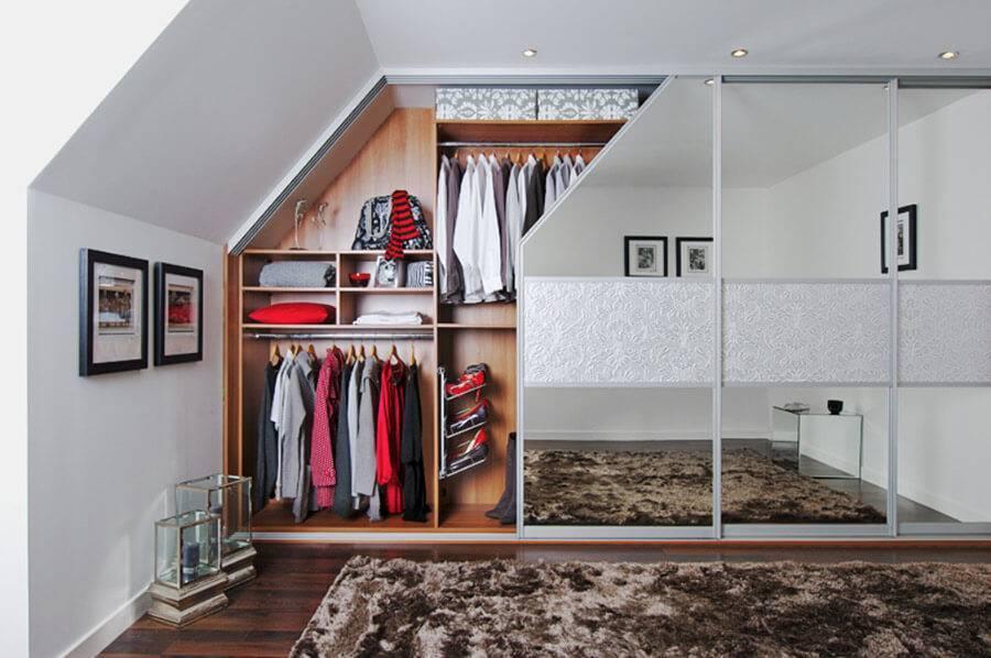 Потолок на мансарде: 200+ фото дизайна комнат со скошенным потолком