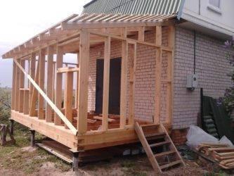 Пристройка к деревянному дому: современные проекты