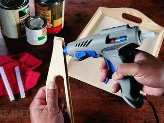 Клей пистолет — сферы применения, правила выбора и использования