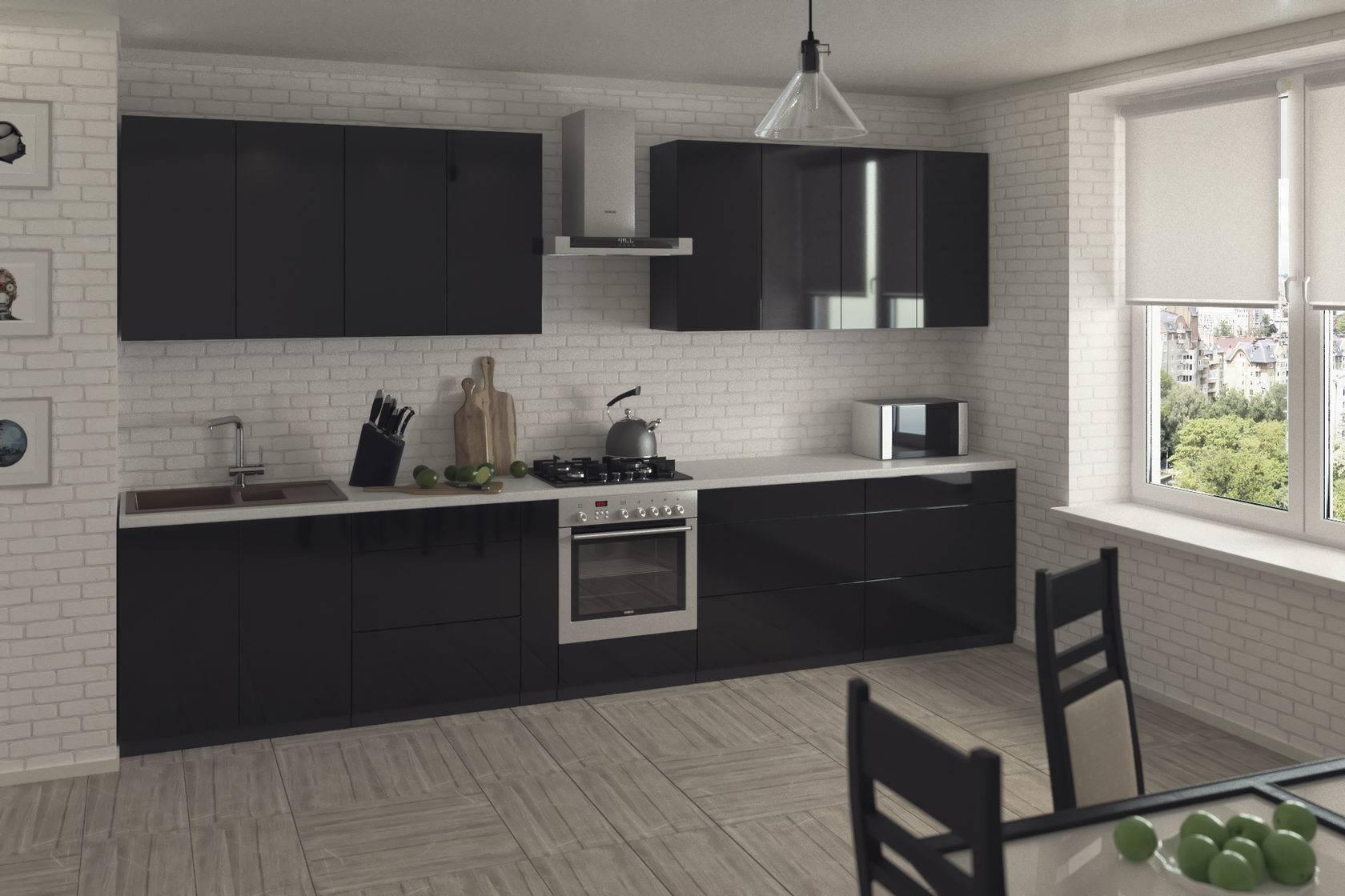 Кухонный гарнитур с пластиковыми фасадами: плюсы и минусы, дизайн и фото-идеи