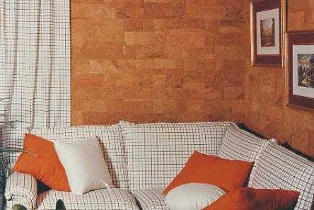 Пробка в интерьере: применение в дизайне, виды пробковых покрытий, цены