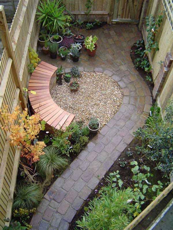 Ландшафтный дизайн маленького участка: приемы расширения пространства