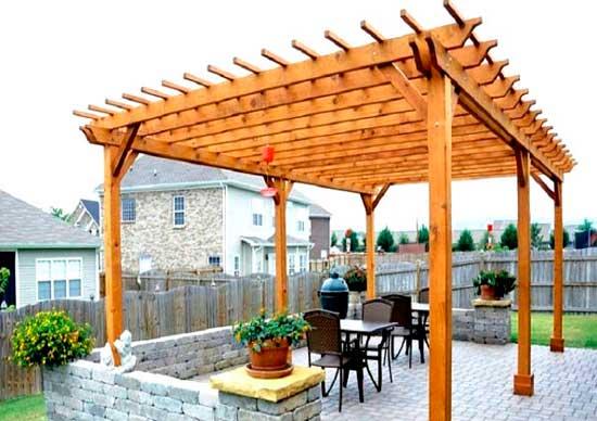 Пергола своими руками: фото перголы на даче, строительство дачной беседки перголы из дерева