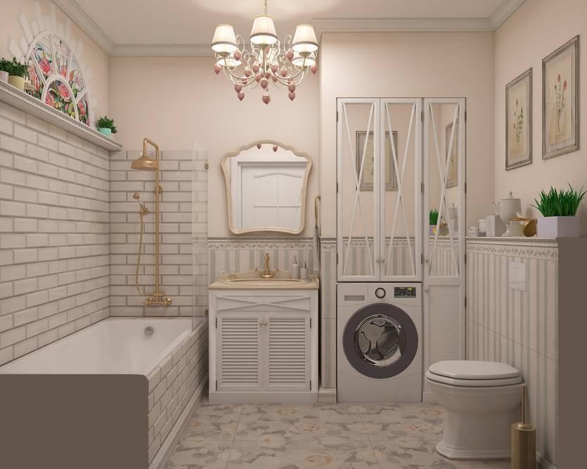 Дизайн ванной в стиле прованс: 205+ (фото) идей для интерьера