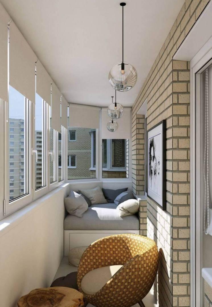 Как обустроить балкон внутри по простому и дешево: идеи 2018-2019 (фото)