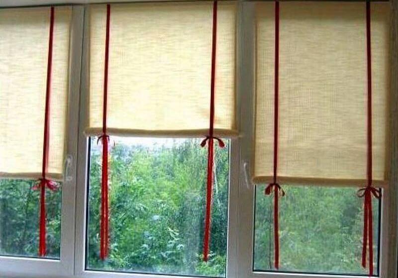 Своими руками — мастер класс по пошиву штор