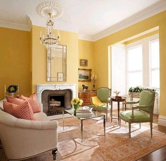Желтый цвет в интерьере (87 фото): с какими другими цветами он сочетается? лимонные стены и диваны, кресло в черно-желтых тонах