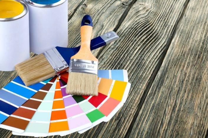 В какую краску можно добавлять колер