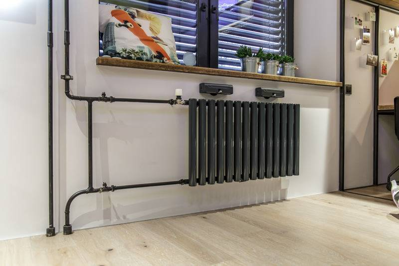 Как задекорировать трубы отопления - декорирование труб отопления фото