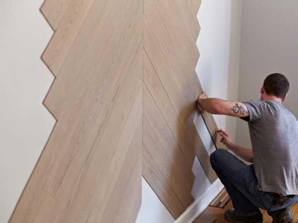 Все способы крепления ламината на стену - легко и просто