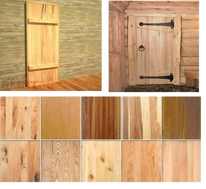 Купить двери из дерева межкомнатные из фанеры или сделать своими руками входные: Пошагово