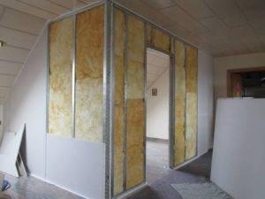 Как правильно обшить стены гипсокартоном — технология и этапы