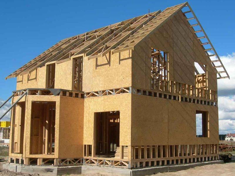 Строительство домов по каркасной технологии – за и против.