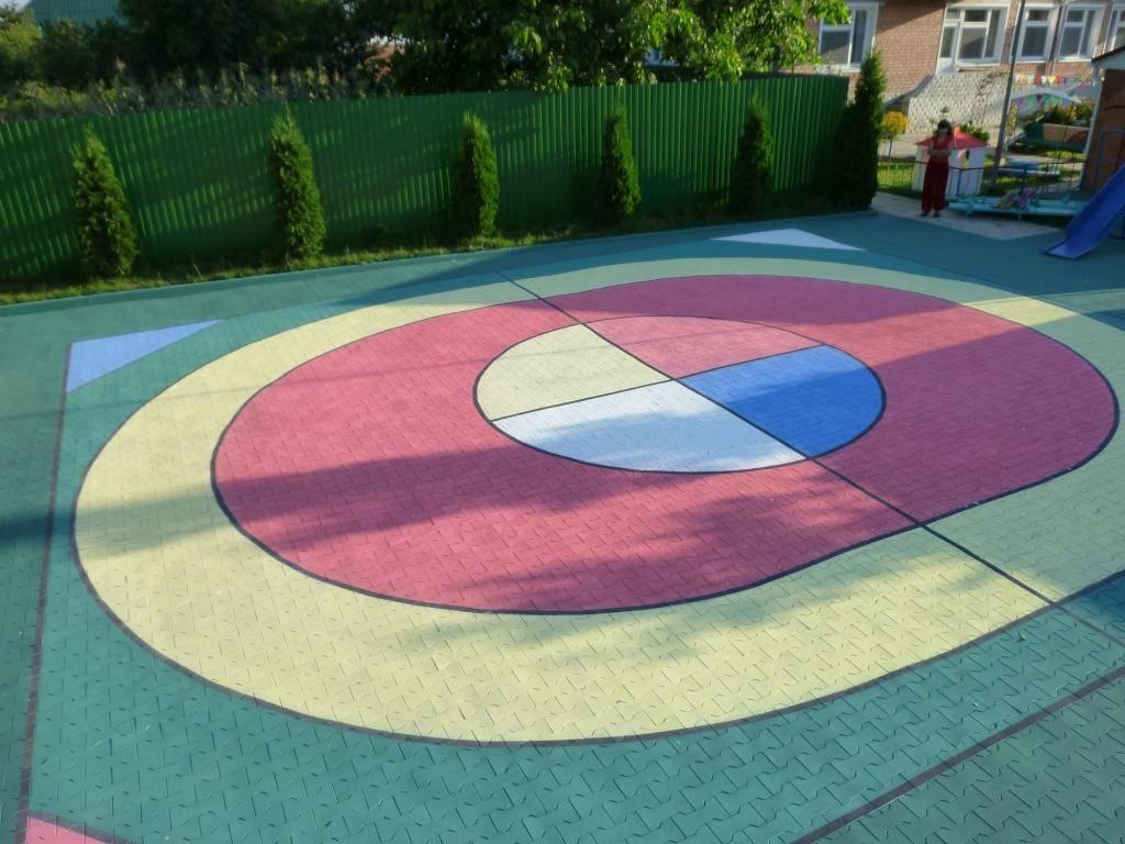 Детская площадка из резиновой крошки: описание, монтаж, видео