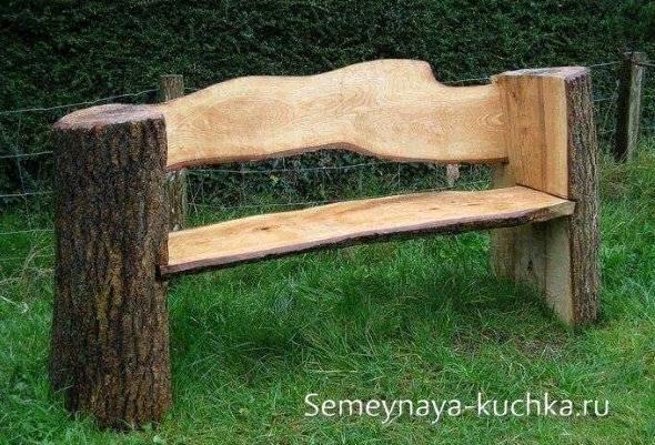 Лавочка своими руками – инструкции, чертежи и советы как делается садовая скамейка