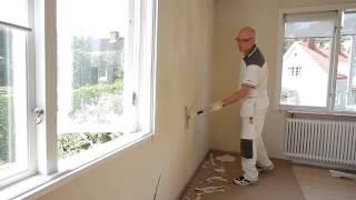 Подготовка стен к покраске по старой краске