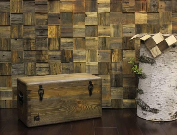 Деревянная плитка: как ее применять в отделке | дом мечты
