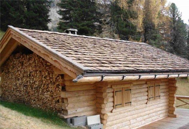 Дранка на крышу: плюсы деревянной кровли