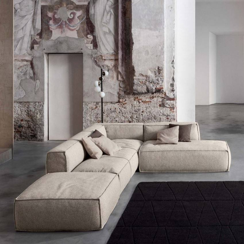 Как выбрать диван в гостиную по форме, размеру и цвету - 24 фото