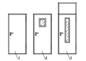 Деревянные противопожарные двери: виды и конструкция