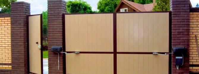 Гаражные ворота: тонкости изготовления своими руками