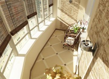10 вариантов внутреней отделки балкона | 80+ фото