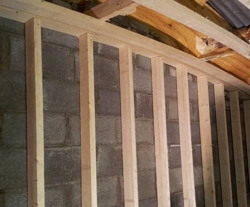 Как крепится профиль для гипсокартона на деревянную стену