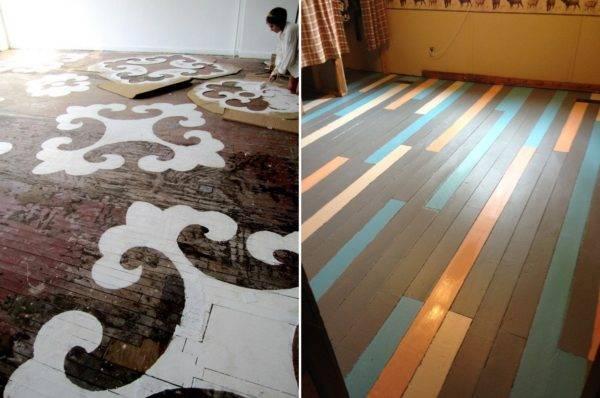 Покраска деревянного пола своими руками: выбор покрытия, шаги