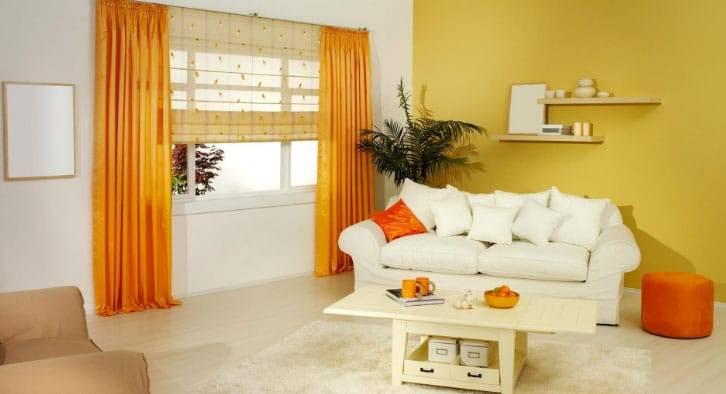 Оранжевое настроение в интерьере – правила сочетания и применения