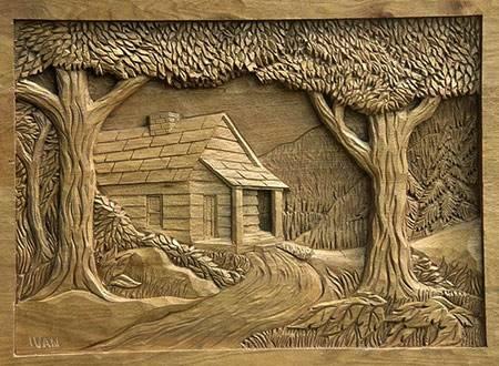 Резьба по дереву фотографии, рисунки и эскизы