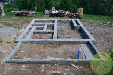 Монолитный арболит: расчет и строительство дома своими руками. особенности заливки опалубки в зимнее время