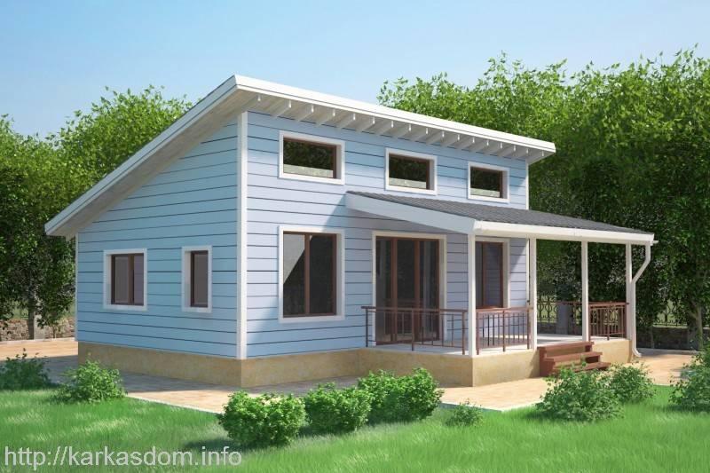 Стоимость каркасного дома: строительства каркса, возведения стен, постройки одноэтажного здания
