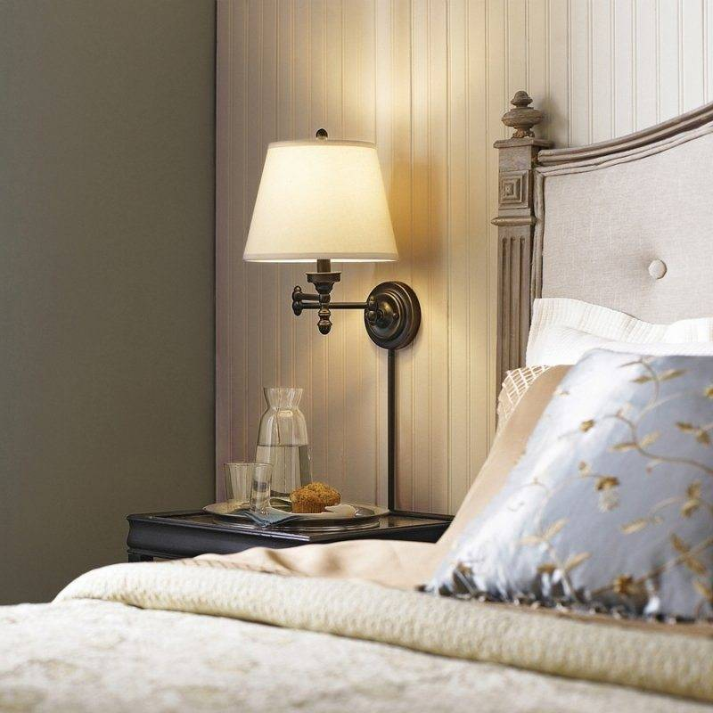 Ночники в спальню - 65 фото вариантов стильного дизайна ночников