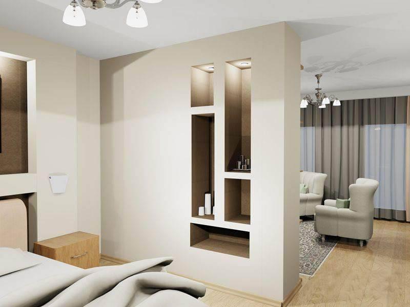 Перепланировка однокомнатной квартиры (59 фото): проект обустройства 1-комнатной студии в двухкомнатную, примеры и варианты переделки квартиры маленькой площади