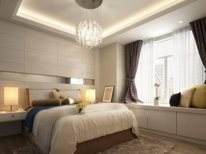Выбор штор на окно с балконной дверью для зала, гостиной и спальни